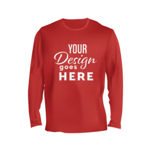 Long Sleeve Shirt Red front